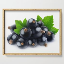 Black currants Serving Tray