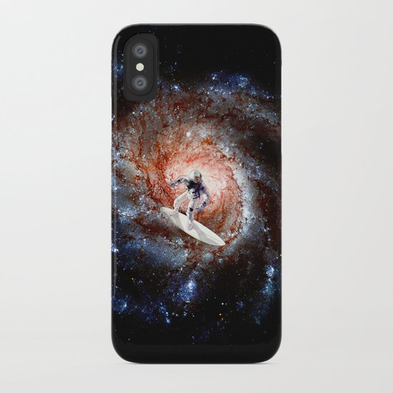 Ride The Spiral iPhone Case
