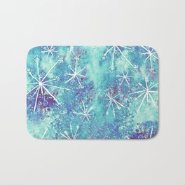 Starry Garden Bath Mat