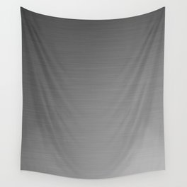 Smooth Sheet Metal Dull Ombre Texture Graphic Design Wall Tapestry