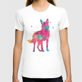 Colorful German Shepherd T-shirt