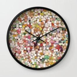 Aztec Vintage Pattern 10 Wall Clock