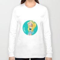 powerpuff girls Long Sleeve T-shirts featuring The Powerpuff Girls, Today. Bubbles (Fan Art) by The Rabbit Joe by The Rabbit Joe