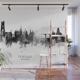 Fribourg Switzerland Skyline Wall Mural