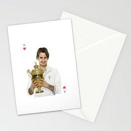 Roger Federer Stationery Cards