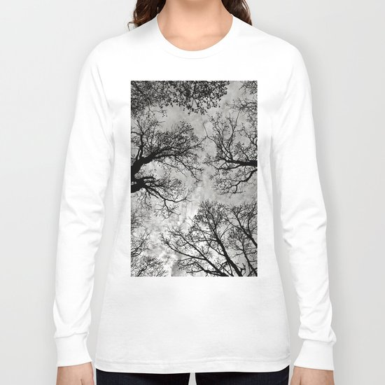 Meditative Power of Trees Long Sleeve T-shirt