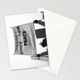 unity, love, peace Stationery Cards
