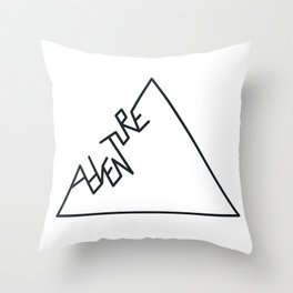 Adventure Mountain Throw Pillow