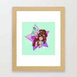 decora senshi sailor jupiter Framed Art Print