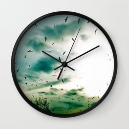 Descendants of Icarus Wall Clock