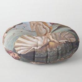 Sandro Botticelli The birth of Venus 1485 Artwork for Prints Posters Tshirts Men Women Kids Floor Pillow