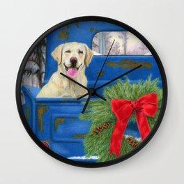 Pick-En Up The Christmas Tree Wall Clock