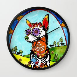 Chihuahua III Wall Clock