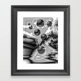 Orbital Journey Framed Art Print