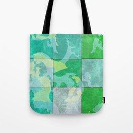 Tiled abstract Tote Bag