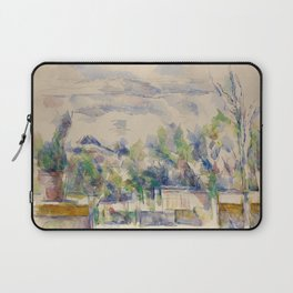 The Terrace at the Garden at Les Lauves Laptop Sleeve