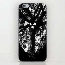 Árbol  man iPhone Skin