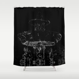 Fountain Chateau Avalon Shower Curtain