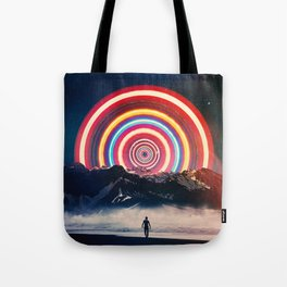 Behind The Mountain Tote Bag