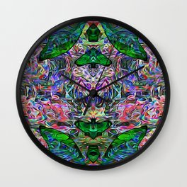 Butterfly of the Mind Wall Clock