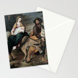 Bartolome Esteban Murillo - The Flight into Egypt Stationery Cards
