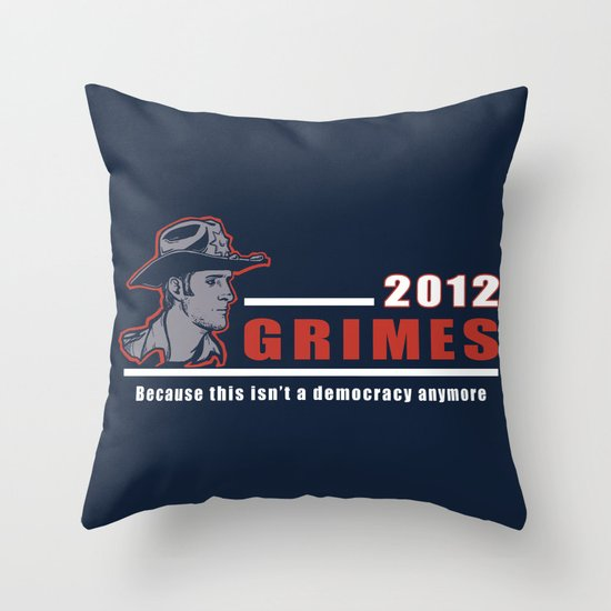 He will keep us safe. Throw Pillow