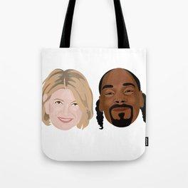 Snoop Dogg and Martha Tote Bag