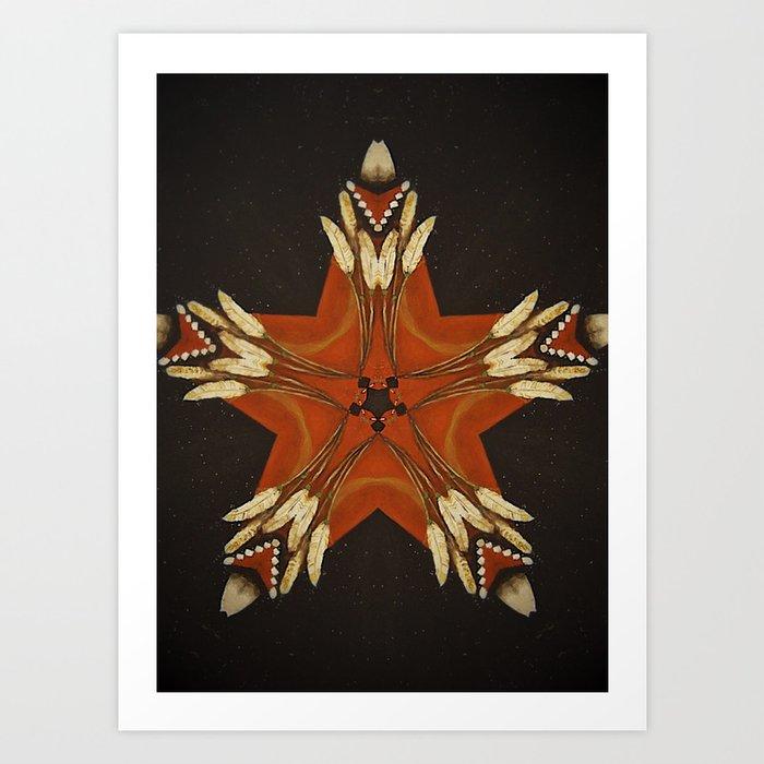 Shaman Spirit Art Print