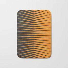 Yellow / Black - Geometric Bath Mat