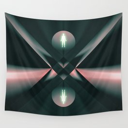 Ascend - Descend Wall Tapestry