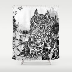 Lay of the land Shower Curtain