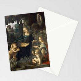 Leonardo da Vinci Vergine delle Rocce Stationery Cards