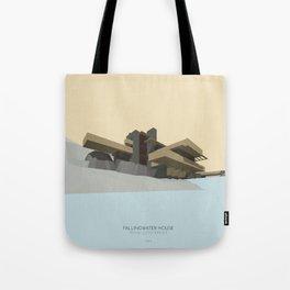 Fallingwater house Tote Bag
