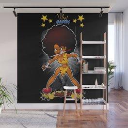 War Maiden - Jungle Girl Wall Mural