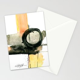 Enso Abstraction No. 107 by Kathy Morton Stanion Stationery Cards