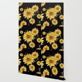 Sunflower Pattern 2 Wallpaper