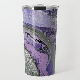 Lavender Geode Travel Mug