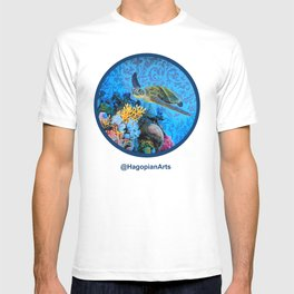 Eco Mural Project 1: Kauai Coral Reef Life T-shirt
