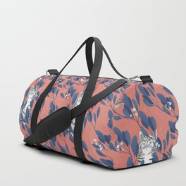 in the wild // repeat pattern Duffle Bag