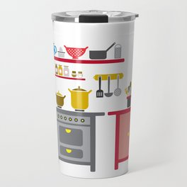 a kitchen Travel Mug