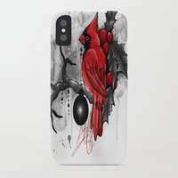 cardinal iPhone & iPod Cases featuring Cardinal. by SynthiaManson