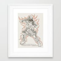 vector Framed Art Prints featuring Vector by Dukewow Nukemwow