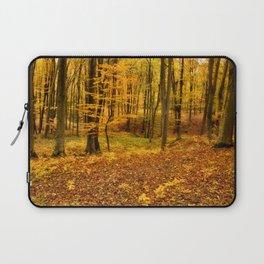 Golden forest Laptop Sleeve