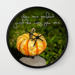 Just The Way You Are Wall Clock