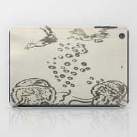 under the sea iPad Cases featuring Under The Sea Sketch by ANoelleJay