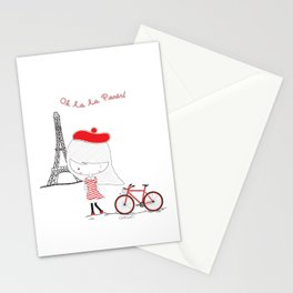 Oh la la Paris! Stationery Cards