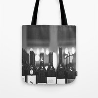 wine Tote Bags featuring wine by Alyson Cornman Photography