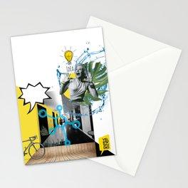 yellow studio Stationery Cards