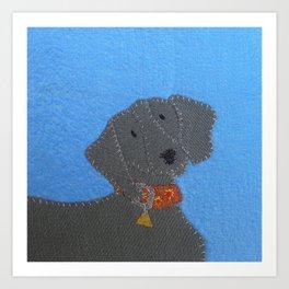 Dog Tag #3 Art Print