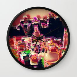 coctail party Wall Clock